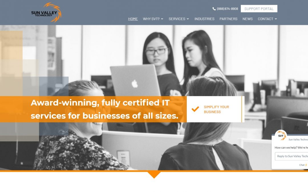 New Website Launched: Sun Valley Technology